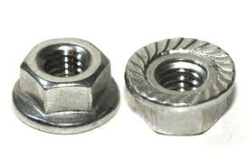 serrated flange nuts A2
